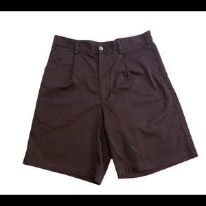 NIKE DriFIT Men's Golf Pleated Brown Shorts SZ 30